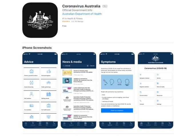 LA aus gov app